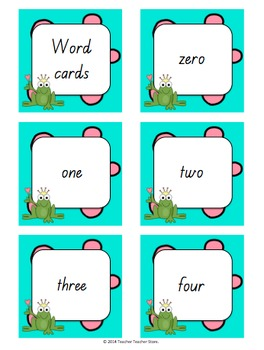 Math Pixie Number Cards 0-100