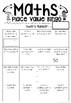Math Place Value Bingo Boards (Differentiated)