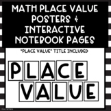 Math Place Value Bulletin Board Posters