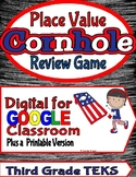 Math Place Value Corn Hole Review Game:Digital and Printable Versions