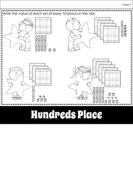 Math:  Place Value Flipbook