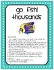 Math Place Value Go Fish Center (thousands)