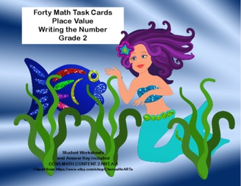 Math- Place Value- Grade 2- Write the Number-CCSS.MATH.CON