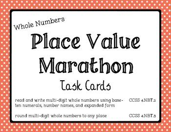 Math - Place Value Marathon