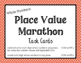 Math - Whole Numbers Place Value Marathon
