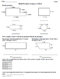 Math Plans & Sheets(3.MD.8) Perimeter  3rd Grade Common Core 4th 9 Weeks
