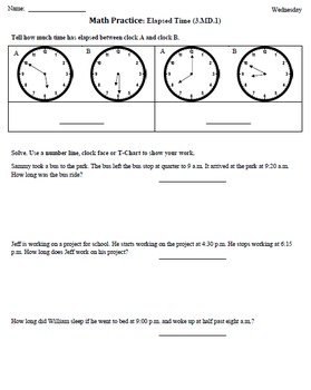Math Plans & Sheets(4th 9 Weeks) 3rd Grade Common Core [BUNDLED]