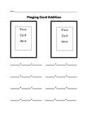Math - Playing Card Addition