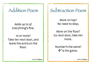Math Poems
