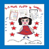 3-5 Math Poetry and Songs
