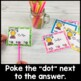 Math Poke Card Bundle: Addition & Subtraction, Money, Time, Multiplication