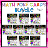 Math Poke Cards {BUNDLE}