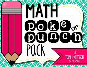 Math Poke Pack! {8 games!}
