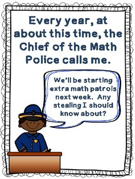 Math Police: A Subtraction With Regrouping Story (Presentation for 2nd grade)