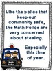 Math Police: A Subtraction With Regrouping Story (Presentation for 3rd grade)