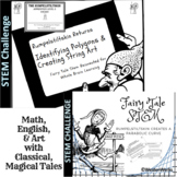 Math Polygons and Parabolic Curves, String Art with Fairy