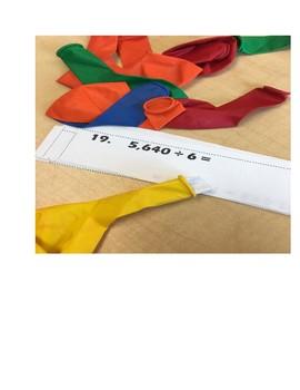 Math Pop: Review Activity