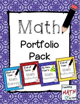 Math Portfolio Pack