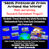 Math Geography Projects, Calculations From Countries Aroun