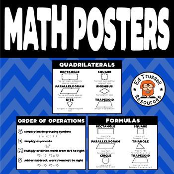 Math Poster Bundle