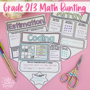 Math Poster Bunting: Increasing Communication Skills in Math