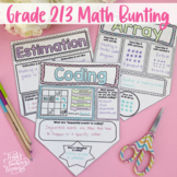 Math Terms Poster Bunting: Increasing Communication Skills in Math -2020 Ontario
