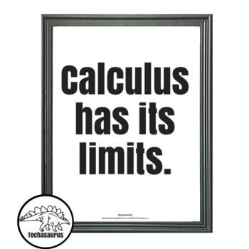 Math Poster - Calculus Poster