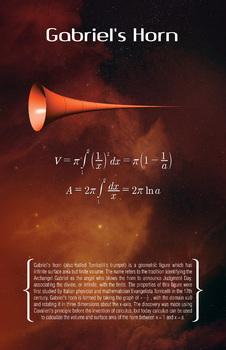 Math Poster - Gabriel's Horn