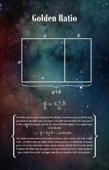 Math Poster - Golden Ratio
