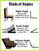 Math Poster: Kinds of Angles (FREEBIE)