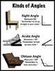Math Poster: Kinds of Angles (FREEBIE)