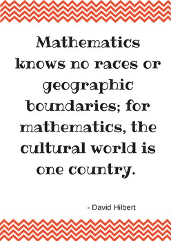 Math Poster - Math is Universal