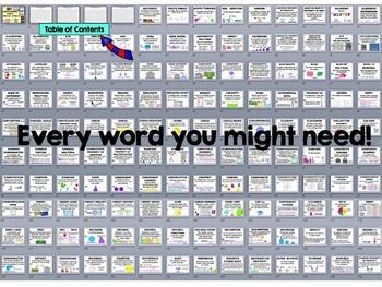 Math Vocabulary Posters {554 Definitions} Math Posters Grades 3, 4 & 5 MEGA Set
