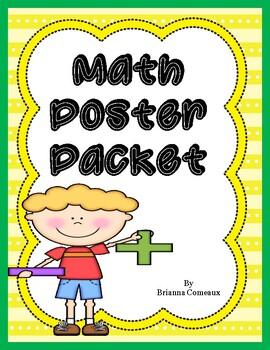 Math Poster Packet