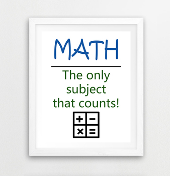 Funny Math Posters & Worksheets | Teachers Pay Teachers