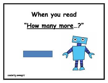 Math Poster Robots - problem solving hints