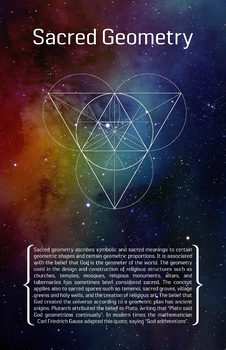 Math Poster - Sacred Geometry