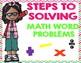 Math Anchor Charts (Chevron)