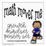 Growth Mindset for Math Poster and Journal Set