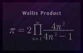 Math Poster - Wallis Product