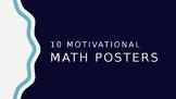 Math Posters - 10 Unique, Motivational & Editable Designs