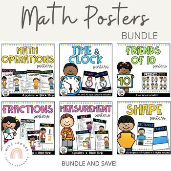 Math Posters {Bundle}