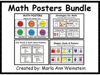 Math Posters Bundle