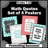 Keep Calm and Do Math Posters, Teacher Appreciation Gift  8x10 or 16x20
