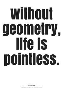 Math Posters - Geometry