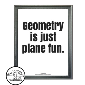 Math Posters - Geometry Poster