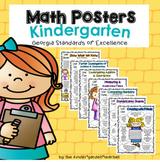 Math Posters - Kindergarten