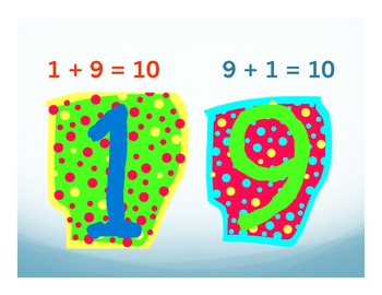 Math Posters: Number bonds to 10