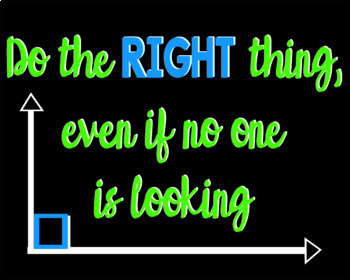 Math Posters - Positive Message Math-Themed Posters for the Secondary Classroom
