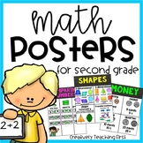 Second Grade Math Posters